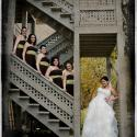 bride; bridesmaids; Christina Santos; Dashwood Manor; Melanie Baired; wedding
