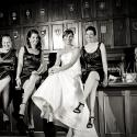 bar; bride; bridesmaids; Hatley castle; Orange Freog Studio Inc; Wedding