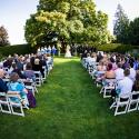 Hatley Castle;Outside wedding ceremony