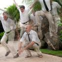 cuba; destination wedding; groom; groomsmen; paradises; varadero; wedding