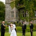 wedding, hatley castle, outdoor