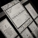 Gatsby Mansion; detail; reception; seating chart; wedding