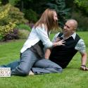 Couple; engagement; Finnerty Gardens; university of victoria; UVic; UVic; Finner