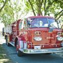 Saanich fire truck; Cadboro Bay Festival; Saanich; event photography; creative;