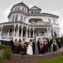 Gatsby Mansion; wedding; Wedding Party; outside