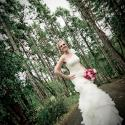 Bride and BC Trees, Olympic View Golf Club